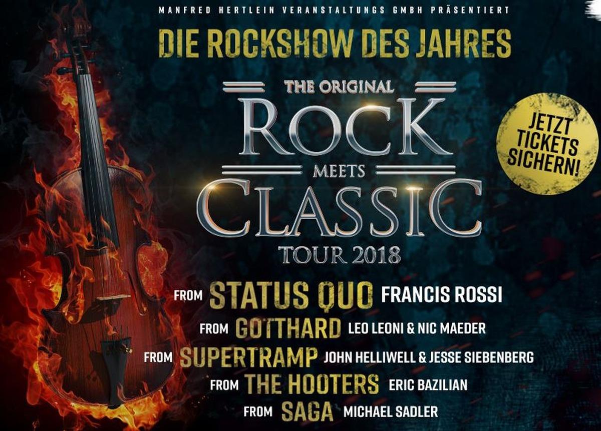 Rock Meets Classic Klenkesticket News
